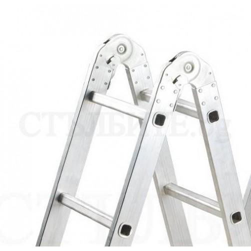 Сгъваема стълба 4х3