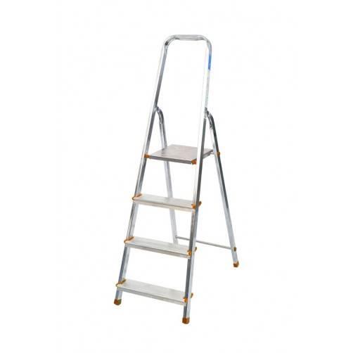 Алуминиева домакинска стълба 3+1