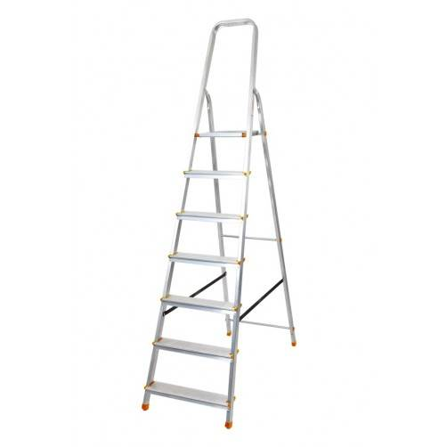 Алуминиева домакинска стълба 6+1