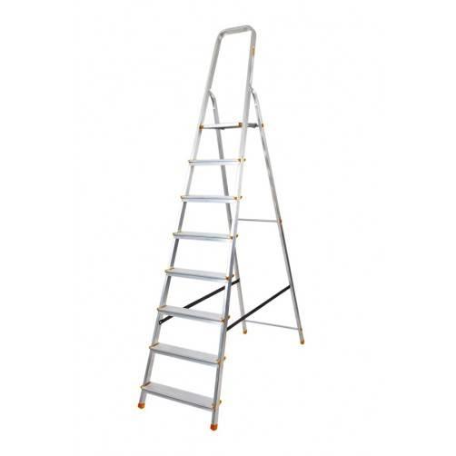 Алуминиева домакинска стълба 7+1