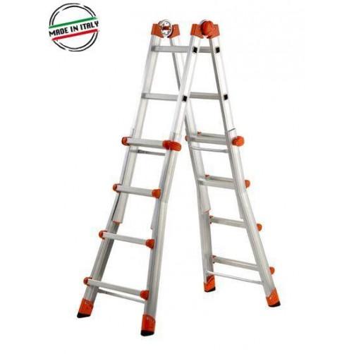 Телескопична стълба 5+5
