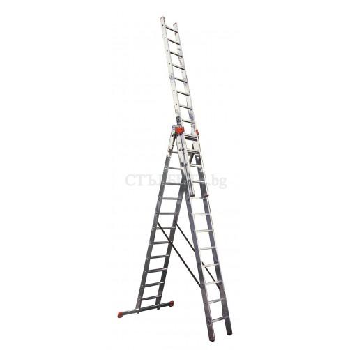 Трираменна стълба TRIBILO 3x10 Krause