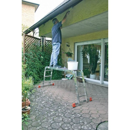 Сгъваема стълба Multimatic 4x3 Krause