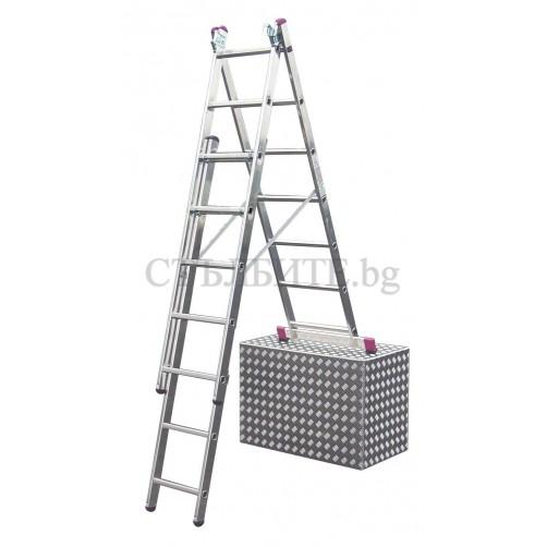 Трираменна  стълба CORDA  3x7 Krause