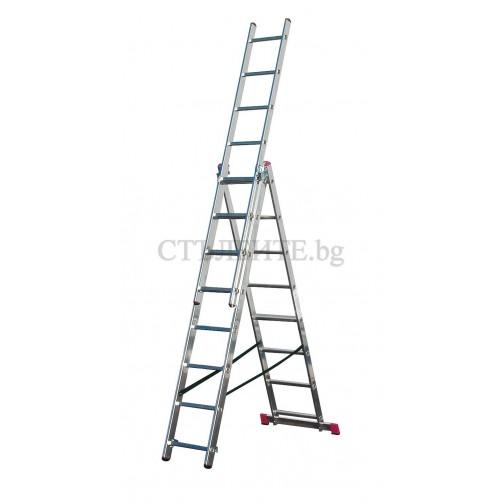 Трираменна  стълба CORDA  3x8 Krause