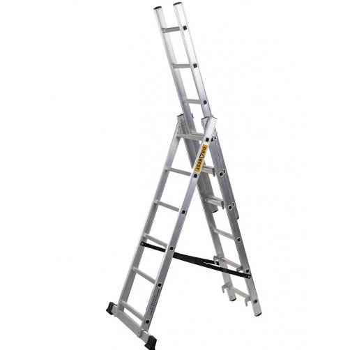 Трираменна стълба DRABEST 3x11