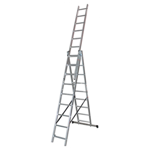 Трираменна професионална стълба 3x10 Арон