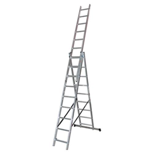 Трираменна професионална стълба 3x11 Арон