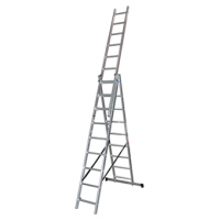 Трираменна професионална стълба 3x7 Арон