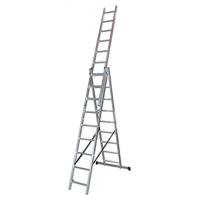 Трираменна професионална стълба 3x9 Арон