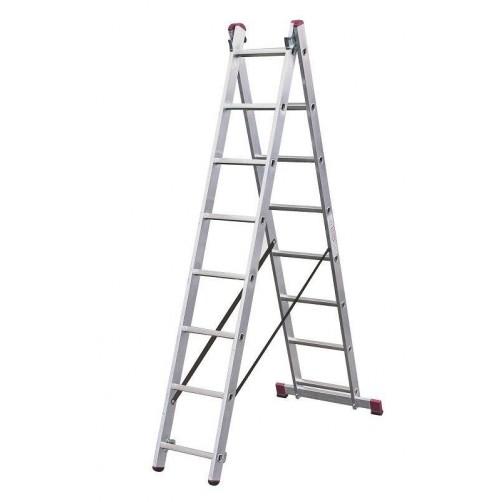 Двураменна стълба CORDA 2x8 Krause