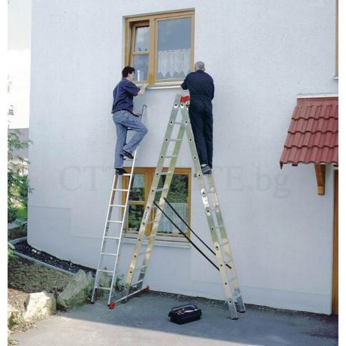 Трираменна професионална стълба TRIBILO 3x12 Krause