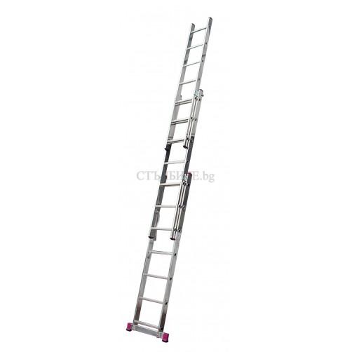 Трираменна професионална стълба CORDA 3x9 Krause