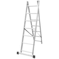 Двураменна професионална стълба 2x7 Drabest