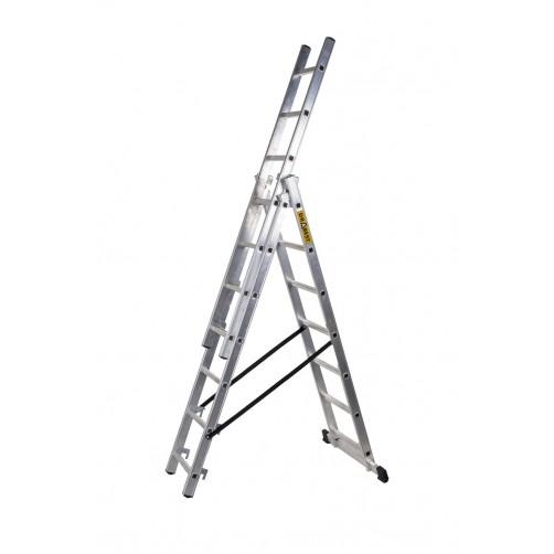Трираменна професионална стълба 3x7 Drabest