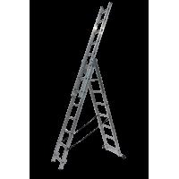 Трираменна професионална стълба 3x8 Drabest