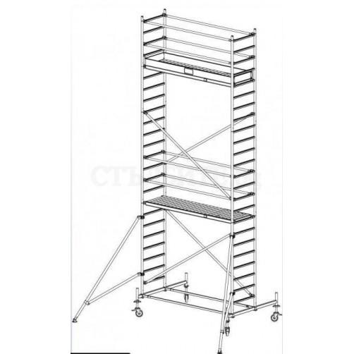 Скеле Stabilo 7.40 m KRAUSE