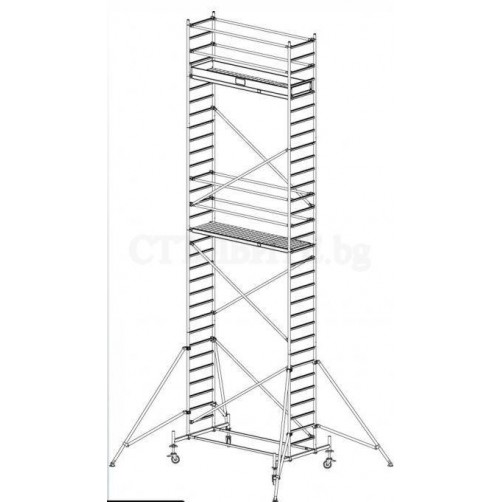 Скеле Stabilo 9.40 m KRAUSE