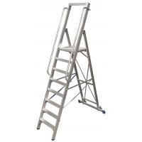 Стълба с платформа Stabilo 10 стъпала