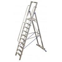 Стълба с платформа Stabilo 14 стъпала