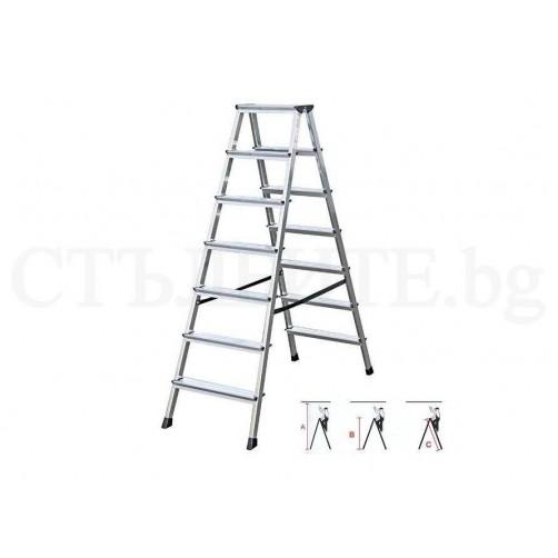 Домакинска стълба DOPPLO 2x7