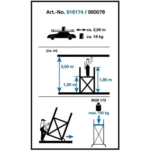 Скеле МИНИ - KRAUSE  3м. работна височина