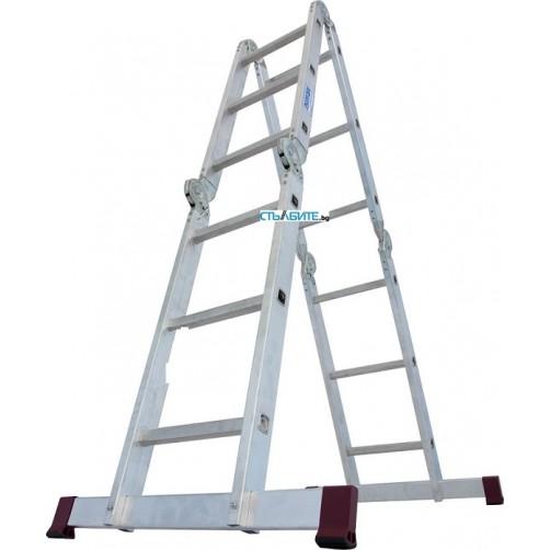 Сгъваема стълба с борд CORDA 4x3 Krause