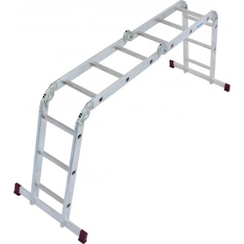 Сгъваема стълба CORDA 4x3 Krause