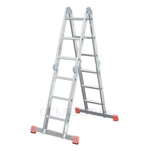 Сгъваема стълба с борд Multimatic 4x3 Krause