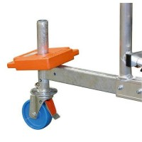 Kомплект колела за скеле Clim Tec и RollTec