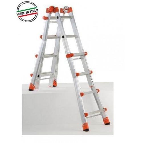 Телескопична стълба 6+6  Gierre