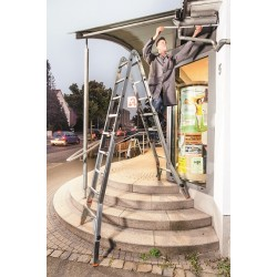 Телескопична стълба Tele Vario 4x5 Krause