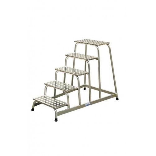 Стълба с платформа степенка 5 стъпала