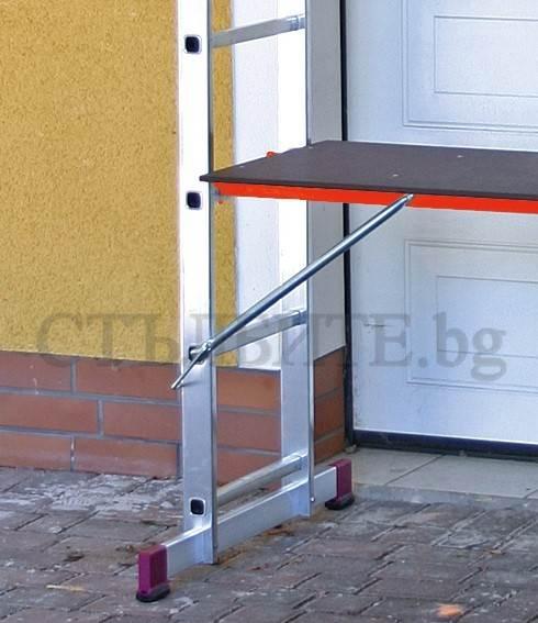 Скеле от алуминий с платформа