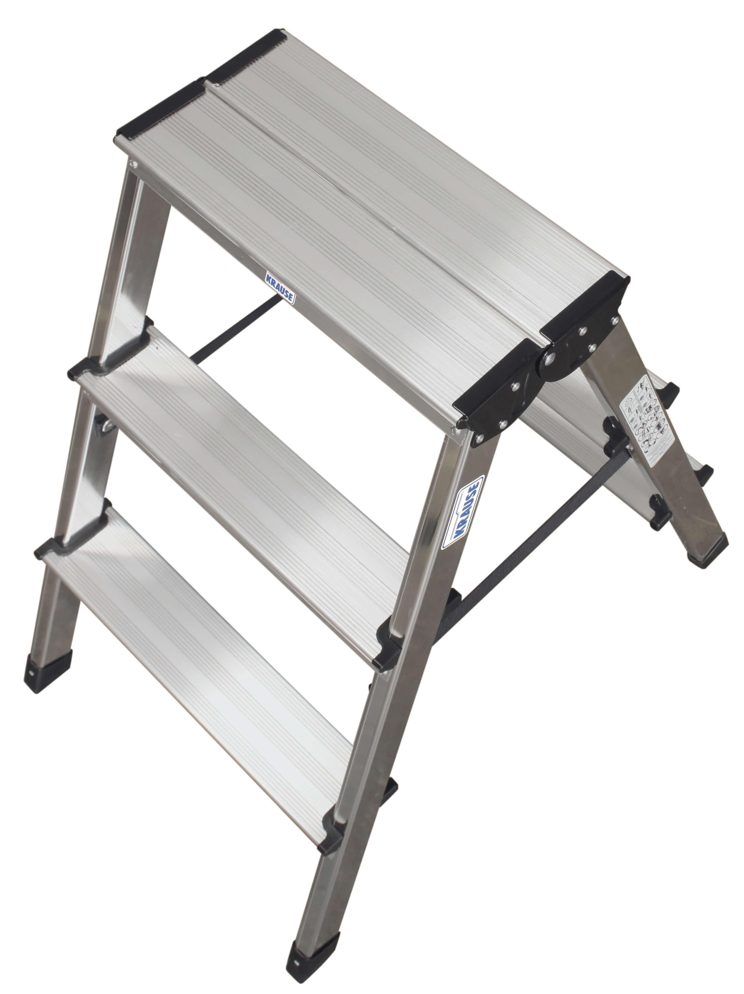 Домакинска стълба от алуминий двустранна Dopplo Krause