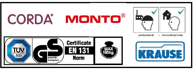 Сертификати, товароносимост и производители на домакински стълби