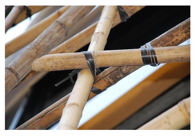 Скеле от бамбук
