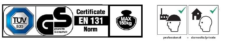 Сертификати, товароносимост и употреба на степенки Krause лого