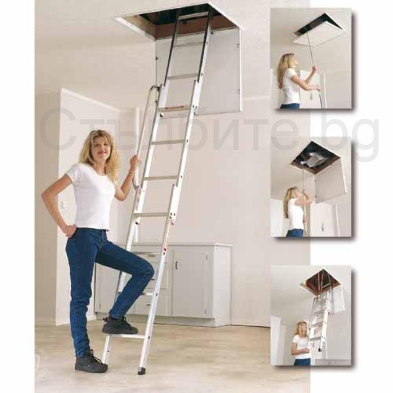 Стълба за таван тип изтегляща се Easiway