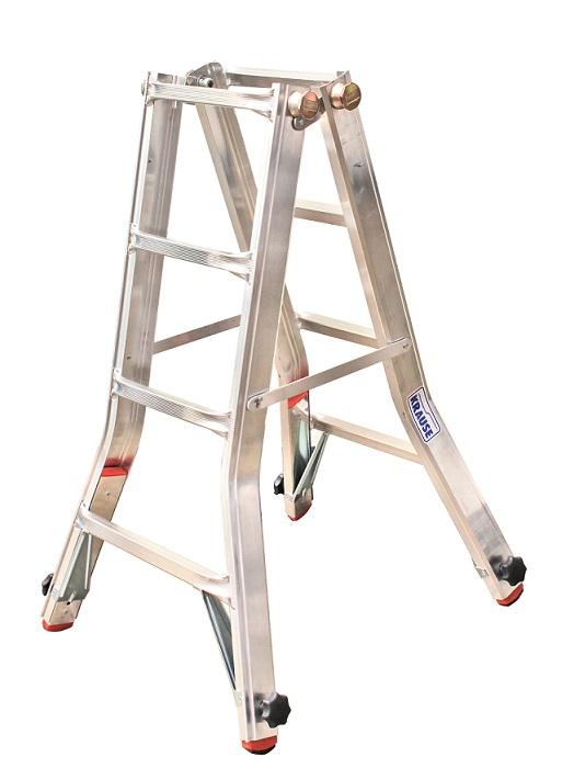 Телескопична стълба с тройна функция
