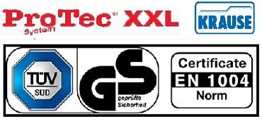 Скеле ProTec XXL Krause 5.30 m. работна височина сертификати